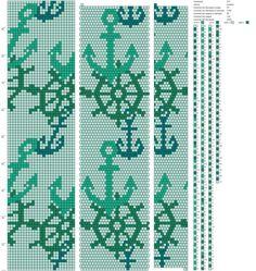 Моё хобби: бисер Crochet Bracelet Pattern, Bead Crochet Patterns, Bead Crochet Rope, Beading Patterns, Crochet Designs, Beaded Crochet, Beaded Beads, Beaded Necklace Patterns, Peyote Stitch Patterns