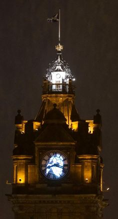 edinburgh clock tower welcomes phantom