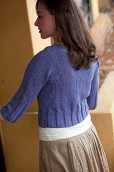 Interweave Knits, Fall 2009: Maple Street Cardigan - Knitting Daily