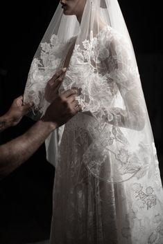 The bridal beauty of a Galia Lahav veil as shot by The Lane Bridal Hair, Bridal Gowns, Bridal Beauty, Jenny Packham, Naeem Khan Bridal, Wedding Veils, Wedding Dresses, Galia Lahav, Hair And Makeup Artist