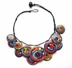Hundertwasser necklace