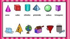 FIGURAS GEOMÉTRICAS Une cada figura geométrica con el objeto que corresponda -Orientacion Andujar
