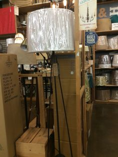 Floor lamp at world market Katie Anderson, World Market, Floor Lamp, Shades, Flooring, Lighting, Home Decor, Decoration Home, Light Fixtures