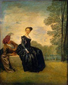 jean antoine watteau | Pinturas de Jean-Antoine Watteau!