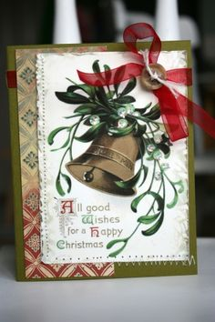 Moxie Fab World: World Card Making Day Week: Make a Christmas Card for a Chance to Win!
