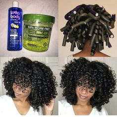 Pinterest: @ashleyaha Flexi Rods, Crochet Braids, Natural Weave, Natural Hair Styles, Curly Hair Styles, Hair Products, Cornrows, Stylists, Black Hair