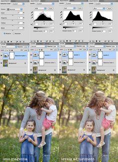 adding a warm summer glow  #photoshop #tutorial