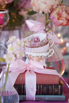 Tea Time centerpieces