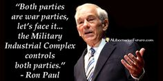 Ron Paul - Military Industrial Complex