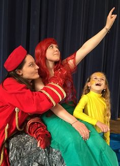 BLUEFIELD COLLEGE YOUTH THEATRE WILL PRESENT THE DISNEY MUSICAL THE LITTLE MERMAID, JR., THURSDAY, MAY 21 THROUGH SUNDAY, MAY 24.