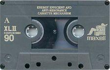 maxell_xlii_90 audio cassette tape