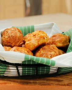 Chef Daniel Boulud shares this recipe for gougeres, a sophisticated cheese-puff appetizer that's a cinch to prepare.