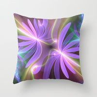 Throw Pillows by Svetlana Fractal Art | Society6