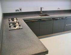 Polished Concrete Worktop Surfaces - Concreations Ltd
