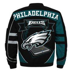 Philadelphia Eagles bomber jacket Fashion winter coat gift for men - 89 Sport shop Philadelphia Eagles Apparel, Philadelphia Eagles Merchandise, Eagles Jacket, Eagles Team, Cool Hoodies, Sports Shops, Sport Outfits, Bomber Jacket, Bad Candy