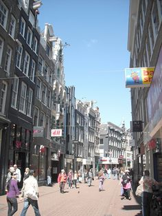 Kalverstraat #amsterdam #shopping #accorcityguide The nearest Accor hotel : The Convent Hotel Amsterdam