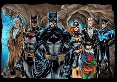 batman family by royhobbitz
