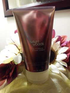 NWT Bath and Body Works TWILIGHT WOODS Triple Moisture Shower Cream 8 fl oz RARE #BathBodyWorks