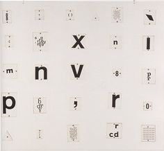 visual-poetry: by mira schendel (+)