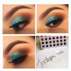 Jaclyn Hill palette look