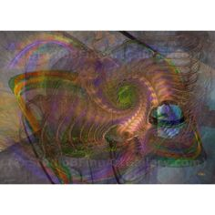 Down Below - By John Robert Beck  This art was created in 2011. Down Below is an abstract piece. $3.00