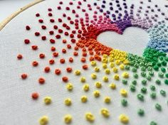 Embroidery french knot art – anniversary gift – Valentines Gift – Embroidery hoop art – Wedding gift – LGBT gift – 5 inch hoop – Lucy Olvera - x box one s. Etsy Embroidery, Hand Embroidery Art, Hand Embroidery Videos, Flower Embroidery Designs, Simple Embroidery, Embroidery Techniques, Embroidery Patterns, Creative Embroidery, French Knot Embroidery