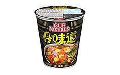Nissin Black Pepper Crab Instant Authentic HK Japanese Ramen Cup Of Noodles Soup ( 24Pack)