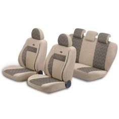 Pufi Ortepedik Gold Fuzz Airbag Uyumlu Universal Koltuk Kılıf Seti 101