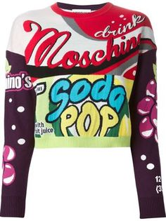 Win! MOSCHINO Cropped Sweater worth € 468 #win   #moschino   #croppedsweater   http://www.bliqx.net/win-moschino-cropped-sweater-worth-e-468/