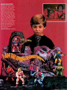 Master of the Universe Toys from the 1986 Mattel Toy Retailer's Catalog - Retro Ramblings Gi Joe, Retro Toys, Vintage Toys, Childhood Toys, Childhood Memories, Hee Man, Master Of The Universe, Universe Art, Toy Catalogs