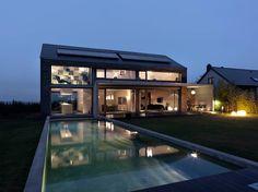 Martelange | Belgien: moderne Häuser von LEICHT Küchen AG