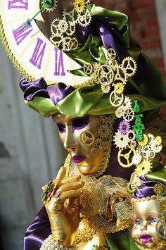 Carnival of Venice 2014:  Fashion is my passion, It's about Time, Your Best Face Forward or Steampunk?? Or start a new board?... nahhh