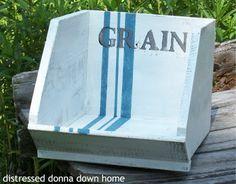 Distressed Donna Down Home: Grain Bin