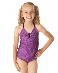 Are you a pink swimsuit kind of girl? Shop Fin Fun's Malibu Pink mermaid tankini set for kids and adults flowing with scales of hot pink and purple! Pink Mermaid Tail, Fin Fun Mermaid Tails, Mermaid Swimsuit, Pink Swimsuit, Baby Swimwear, Mermaid Swimming, Tankini Top, Girls Shopping, Swimsuits