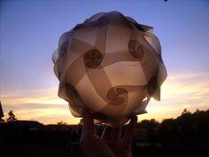 Misha Beauty - přírodní kosmetika a jiné DIY : Designová koule - stínidlo na lampu