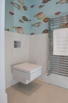 #AshgroveHomes #LambourneHouse #WC #Cloakroom #KohlerUK #Trends2017 Wall Hung Toilet, Case Study, Toilet Paper, Terrace, Beautiful Homes, Building A House, Balcony, House Of Beauty, Porch