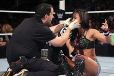 WWE reports AJ Lee was BLINDED by Nikki Bella at TLC - Cageside Seats