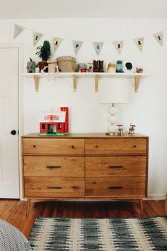 Bri Heiligenthal's Mid-Century Modern Toddler Room Tour - Project Nursery