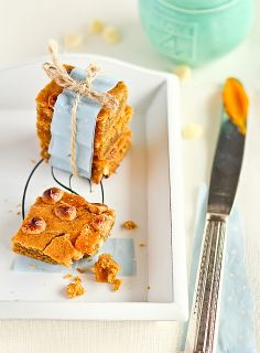 Pumpkin & Brown Butter Blondies