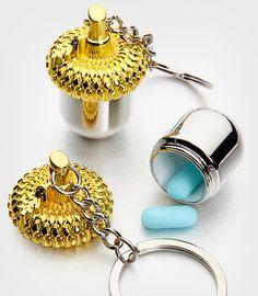 Nut Case Keychain