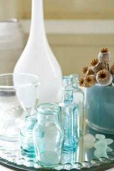 Decorar con cristal y color #decoracion #LowCost #detalles #HomeDecor #decoracion #color