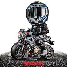 MiniBuddz (@minibuddz) • Instagram photos and videos Moto Bike, Motorcycle Art, Bike Art, Moto Wallpapers, Dibujos Pin Up, Duke Bike, Bike Drawing, Bike Stickers, Scooter Custom