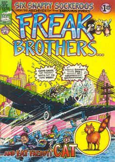 The Fabulous Furry Freak Brothers 6 by #Gilbert_Shelton #underground_comics