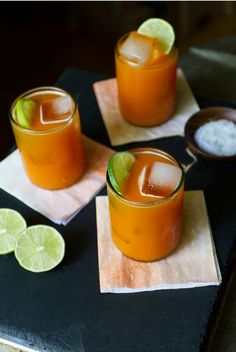Charred Jalapeno and Carrot Margarita Recipe by Aida Mollenkamp