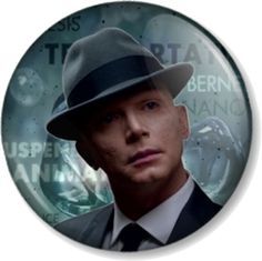"FRINGE The Observer - September 25mm 1"" Pin Button Badge Sci-Fi TV Show 2 Worlds | eBay"
