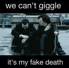 Sherlock Holmes & Jim Moriarty