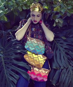 Cha Ching Puzzler Bag - Queendom Of Banana - Missibaba Science Projects, Cape Town, South Africa, Banana, Chic, Creative, Pink, Handmade, Bags