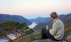 Preikestolen hike – off the beaten track with Outdoorlife Norway - Hiking in… Outdoor Life, Norway, Things To Do, Hiking, Mountains, Nature, Travel, Beautiful, Bucket