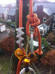 Petzl Zigzag and a new rope we are testing for a top brand.