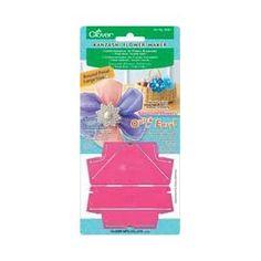 Clover - Clover Kanzashi - Fabrique/ Machine à fleurs en tissu - Grand pétal rond: Amazon.fr: Cuisine & Maison